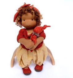 Waldorf Dolls, Doll Clothes, Teddy Bear, Toys, Animals, Activity Toys, Baby Doll Clothes, Animaux, Animal
