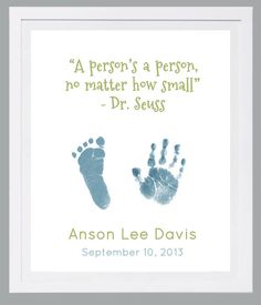 Hand and Footprint Art by Forever Prints. New by MyForeverPrints, $25.00
