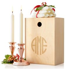 Copper Candle Set | Mark and Graham