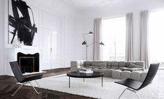 Paris Apartment by J