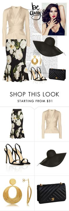 """""""untitled"""" by j-yoshiko ❤ liked on Polyvore featuring Dolce&Gabbana, Issa, Vionnet, Stefano Patriarchi and Chanel"""