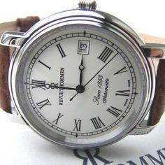 Revue Thommen Nostalgia 1853 SS model 2132 #watch