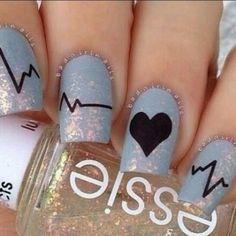(nail art on we heart it)
