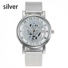 Hollow Out Quartz Watch Stainless Steel Mesh, Islamkot Stainless Steel Mesh, Mechanical Watch, Quartz Watch, Watches For Men, Mens Fashion, Luxury, Stuff To Buy, Accessories, Moda Masculina