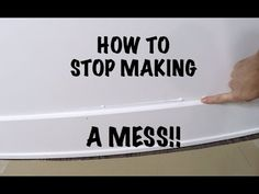 Your caulking job will make or break your trim install! Here are some great tips to get super crisp lines on your trim work. Caulk Baseboards, Baseboard Trim, Drywall, Bathroom Caulk, Caulking Tips, Large Bathtubs, Carpenter Work, Expandable Dining Table, Wine Glass Rack