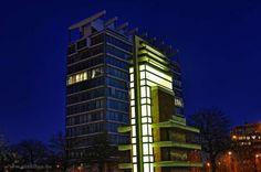 Ontwerp van L. Stynen in samenwerking met P. De Meyer, 1960-63. Bekroond met architectuurprijs van…...