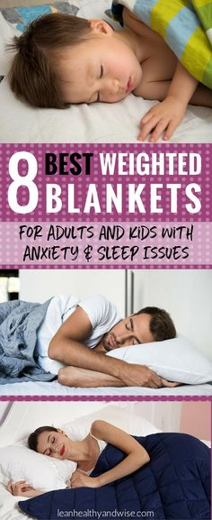 Check out the amazing weighted blankets that can be safely used by kids and adults with anxiety and sleep problems. Often called sensory quilts or gravity blankets, they will calm, relax and help to resolve hyperactivity and sensory issues. #weightedblankets #bestweightedblankets #gravityblankets #weightedblanketsforanxiety via @leanhealthywise