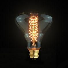 Mushroom Cage Filament Light Bulb E27 Edison Bare Light Bulbs 220v Vintage Style