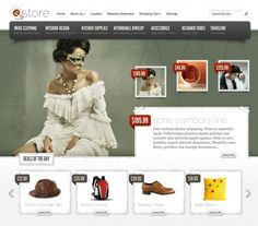 eStore provides an elegant solution for those looking to sell products online. The theme is easy to configure, and offers integration options with some of the most popular (and free) ecommerce plugins, including eShop and Simple PayPal Shopping cart. Also, due to the open-ended nature of the design, adding support for additional shopping carts wont cause a headache. If you are ready to bring your business online, then get started today with eStore! wordpress-themes