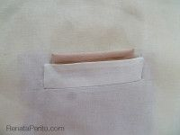 Como fazer um bolso de lenço para casacos e blazers