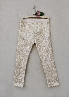*NEW* Juno Sequins Leggings in Gold