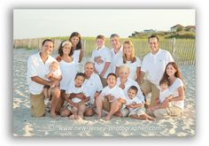 Large group photography - on the beach