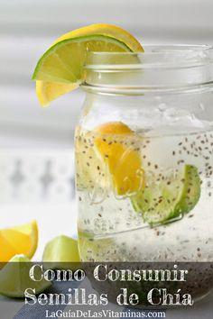 Chia semena in limonska voda Healthy Juices, Healthy Nutrition, Healthy Drinks, Healthy Tips, Healthy Recipes, Health Dinner, Natural Medicine, Detox Drinks, Smoothie Recipes