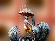Kaliya Daman - Hindu Posters (Photographic Print - Unframed)