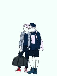BTS YoonMin Wallpaper - Credits to owner/artist