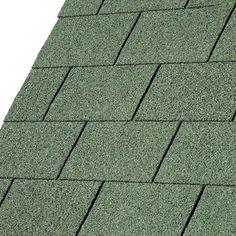 IKO Roofing Shingles are lightweight, glass fibre based bitumen strip slates. Additionally,  they are easily installed and give the appearance of a highly decorative tiled roof finish. IKO Roofing Shingles can be used on a wide variety of buildings, temporary or permanent, and have proved immensely popular with both professional and DIY installers alike.  Protecting what is under your roof from the elements is simplicity itself with IKO Roofing Shingles. IKO Roofing Shingles make the ideal… Roofing Felt, Roofing Shingles, Buildings, Popular, Flat, Green, Diy, Bricolage, Most Popular