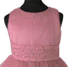 29dfc4b53be ΠΡΟΣΦΟΡΑ ΓΙΑ 2-3 ΧΡΟΝΩΝ, Πανέμορφο Παιδικό Φόρεμα Μακρύ για Παρανυφάκι ή  Πάρτυ σε Ροζ