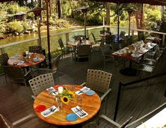 River Grill- Tahoe City, on the Banks of The Truckee River
