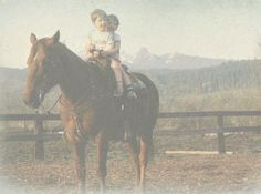 Old ranch days.