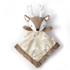 """Levtex Baby Deer Security Blanket - Levtex Baby - Babies """"R"""" Us"""