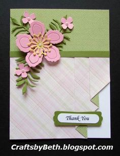 Crafts by Beth: Thinking of You Drapery Fold Card