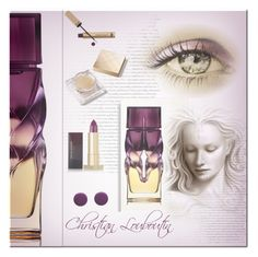 """Fantasy"" by jana-masarovicova ❤ liked on Polyvore featuring beauty, Christian Louboutin, Oribe, Dr.Hauschka, Burberry and Kevyn Aucoin"