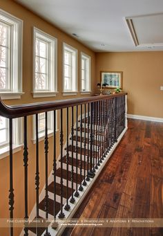 Superior More Realistically What We Should Have... Wrought Iron Staircase And Wooden  Steps