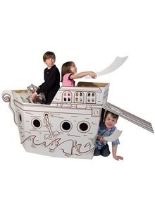 pirate play structure via pink taffy designs