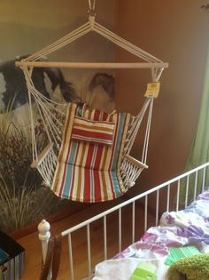 I finally have a hammock chair!
