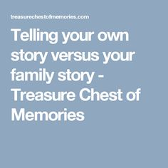 15 Ways to Honor Relatives You Don't Remember - Treasure Chest of Memories Memoir Writing, Writing Tips, Genealogy Research, Treasure Chest, Your Family, Ancestry, Memoirs, Family History, Told You So