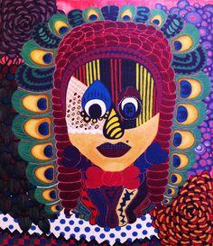 Aboriginal Egg part by Eugenia Giallousi, via Behance My Arts, Eggs, Behance, Painting, Behavior, Egg, Painting Art, Paintings, Egg As Food