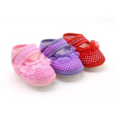 Cute Baby Girls First Walkers Toddler Bowknot Mesh Flower Footwear Cloth Soft Sole First Walkers Shoes 07 #Affiliate