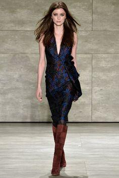 Pamella Roland - Fall 2015 Ready-to-Wear