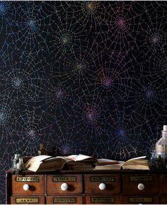 Cobweb: Moonlight - I'm digging the iridescent webs of this