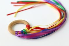 How to Make Dancing Ribbon Rings - Buggy and Buddy
