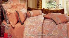 Flora - 11 PC Ultra Luxury Queen size Bed in Bag Set
