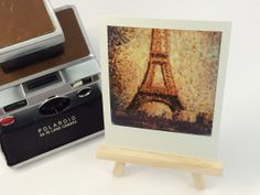 Seurats The Eiffel Tower - Polaroid Picture - Masters on Polaroids