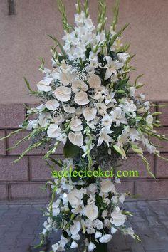 Ferforje Arajman Çiçek Pembe Beyaz