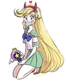 Star Butterfly from Star vs the Forces of evil by tamtamdi.deviantart.com on @DeviantArt