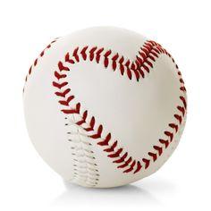Heart-Stitched Baseball - Valentine's Day Gifts - Hallmark