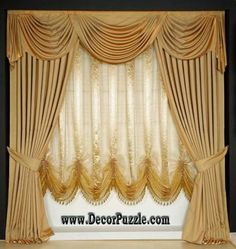 french country curtain ideas | la tenture francaise. 19th century