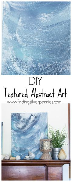 DIY Textured Abstract Art