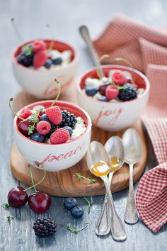 berry parfaits