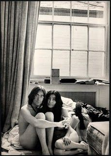 """When John Lennon and Yoko Ono first got together in he moved out of the Kenwood home he shared with wife Cynthia Lennon. John & Yoko then moved into 34 Montagu while The Beatles were recording the """"White Album. John Lennon Yoko Ono, John Lennon Beatles, Yoko Ono Quotes, Billy Preston, The White Album, Give Peace A Chance, Joko, The Fab Four, We Are The World"""