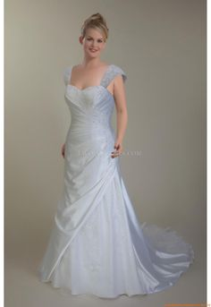 Spitze  Günstige Brautkleider