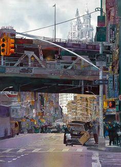 """Manhattan Bridge"" - John Salminen"
