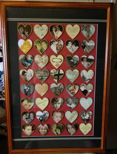 DIY Valentines Day or Anniversary Gift via Hopeful Honey