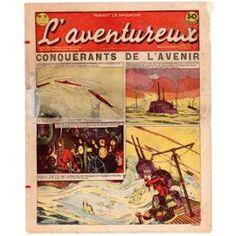L'aventureux 1ère Année 1936 N° 13 : Conquérants De L'avenir