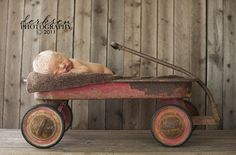 Photography Prop Ideas | even more baby photo props | newborns | bruises and bandaids