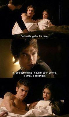 The Vampire Diaries. Oh Damon <3